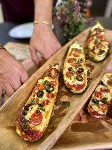 Pizza de Zapallos Italianos
