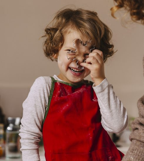 Menú para niños en navidad