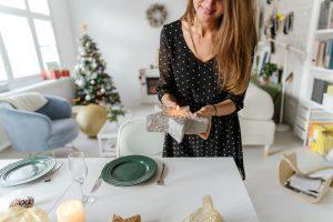 Cómo decorar tu mesa en Navidad